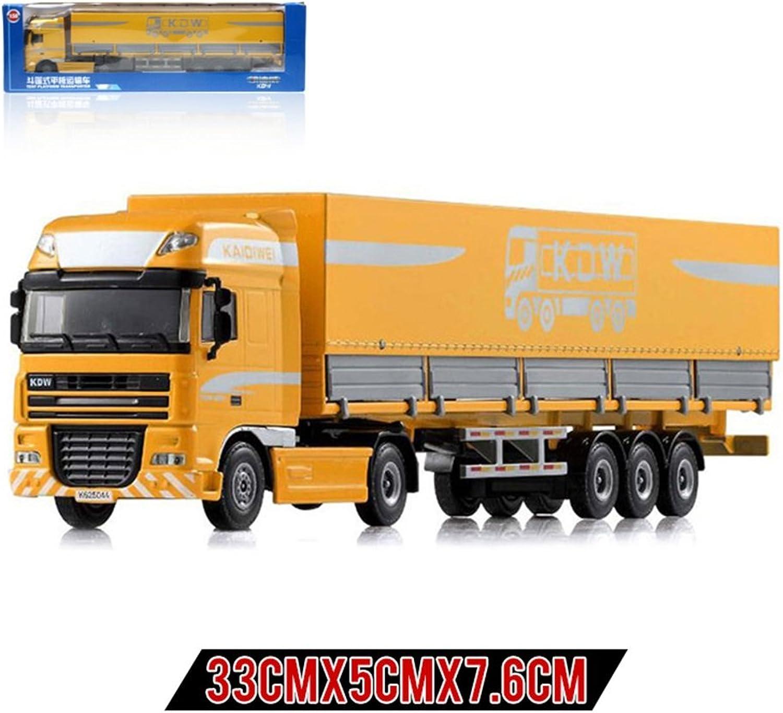 tienda en linea XUEQIN Niño De Aleación Aleación Aleación Coche Modelo Camión Gran Camión De Transporte Container Ingeniería De Vehículos Cochego De Camiones De Juguete ( Color   4 )  comprar nuevo barato