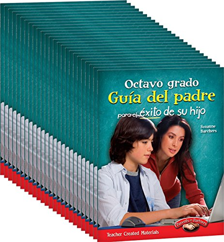 Eighth Grade Spanish Parent Guide for Your Child's Success 25-Book Set (Building School and Home Connections) (English and Spanish Edition)
