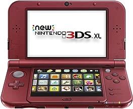 New Nintendo 3DS XL - Red (Renewed)