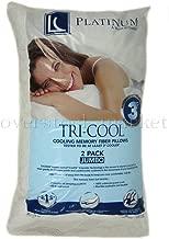Hollander Platinum Memory Fiber FOAMESSENCE 2 Pack King Pillows 300 TC Machine Washable