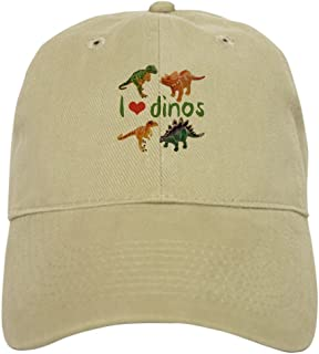 CafePress I Love Dinos Baseball Cap