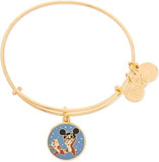 2018 Chip & Dale Disney Parks Alex and Ani Bangle Bracelet (Gold)