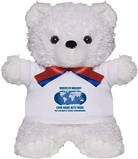 CafePress Where's Waldo Teddy Bear, Plush Stuffed Animal