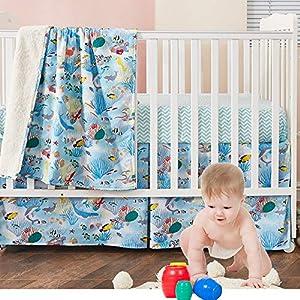 61MaTxq9-bL._SS300_ Nautical Crib Bedding & Beach Crib Bedding Sets
