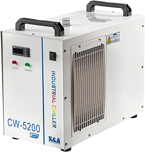 lowest Cloudray new arrival S&A Industrial Water Chiller 110V CW5200DH (Upgraded 5200DG) Laser Chiller For CO2 Engraver Cutter Engraving Cutting Water Cooling Shipping 2021 from US Duty Free online