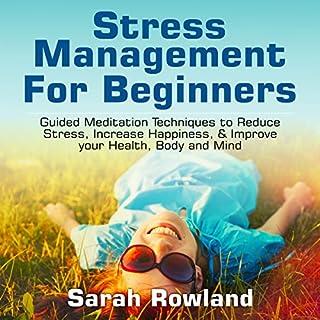 Stress Management for Beginners cover art