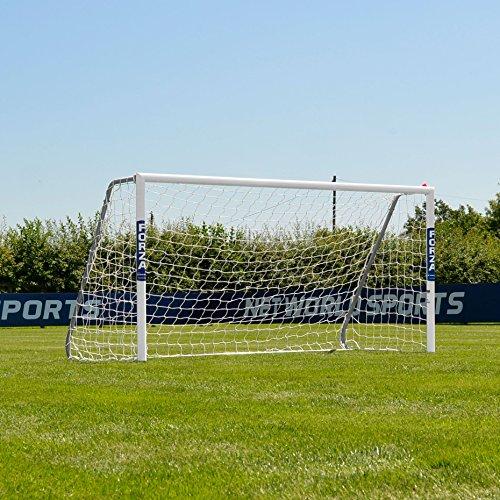 FORZA Alu60 Fußballtore – hochwertiges und freistehendes Aluminium Tor – in 10 Größen erhältlich (2,4m x 1,2m)