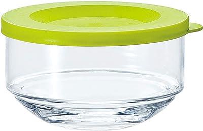 東洋佐々木ガラス 保存容器 オリーブグリーン 約φ10.1×6.1cm マイデリカキーパー 食洗機対応 日本製 B-31301-OG-JAN