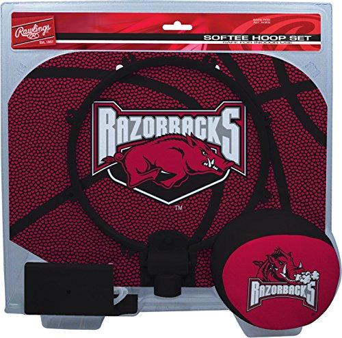 NCAA Arkansas Razorbacks Kids Slam Dunk Hoop Set, Red, Small Arkansas Razorbacks Ncaa Basketball