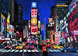 Ravensburger Times Square - 1000 Piece Jigsaw Puzzle for Adults – Every Piece is Unique, Softclick Technology Means Pieces Fit Together Perfectly