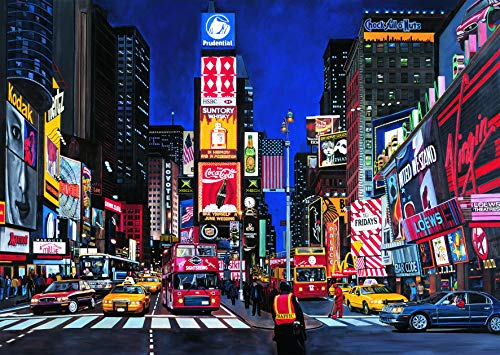 1000 piece puzzles time square - 2