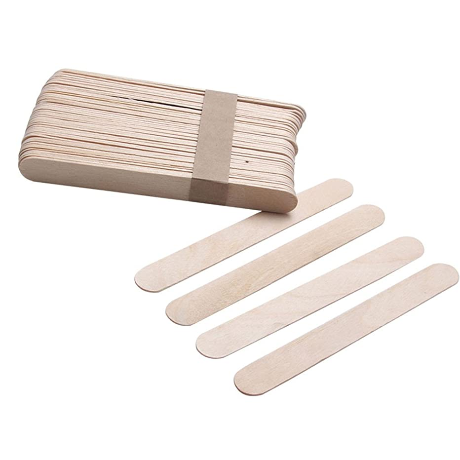 Elevin(TM)???? 10PCS Wooden Body Hair Removal Sticks Wax Waxing Disposable Sticks