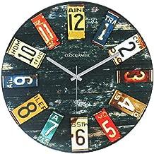 Clockmaker by Cadran 30x30 MDF Duvar Saati, CMM93