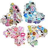 200 PCS Cute Water Bottles Stickers, Kithumi Cool Laptop Sticker for Computer, Hydro Flask, Guitar,Bike, Skateboard Stickers Waterproof Vinyl Decals Stickers, Best Gift for Adult,Children,Teen.