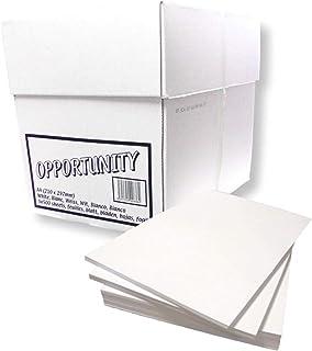 Lot de 5 ramettes de papier à double usage A4 blanc - 70 g/m²