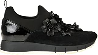 Luxury Fashion | Liu Jo Women MCGLCAK0000B8015I Black Suede Slip On Sneakers | Season Outlet