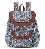 Sakroots Women's Artist Circle Flap Backpack, Navy Spirit Desert,...