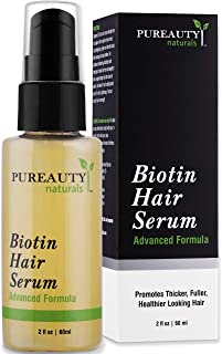 Biotin Hair Growth Serum Advanced Topical Formula To Help Grow Healthy, Strong Hair..