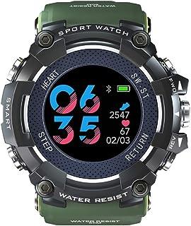 Rastreador de Ejercicios, Pantalla a Color Reloj Pulsómetro Recordatorio sedentario Llamar SMS SNS Recordar Fitness Tracker Compatible con Android iOS