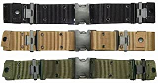 Condor G.I. Style Nylon Pistol Belt - Black