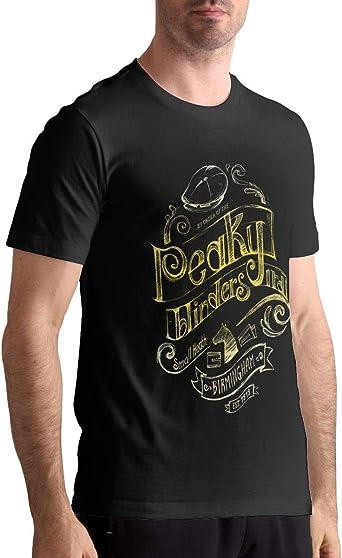 ANGSHI6 Camisa de Hombre Peaky Blinders Men Geek Short Sleeve ...