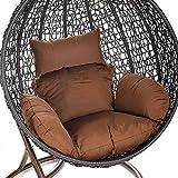 Home Deluxe Polyrattan Hängesessel Cocoon, inkl. Sitz- und Rückenkissen - 2