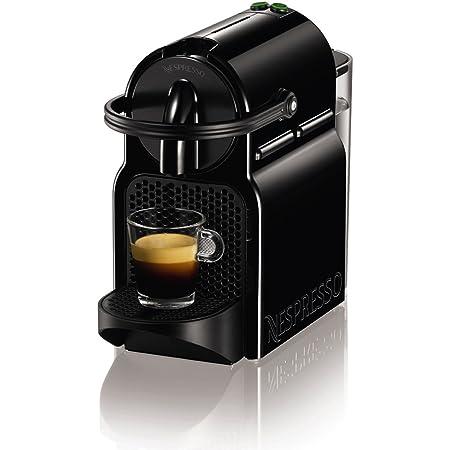 ネスプレッソ カプセル式コーヒーメーカー イニッシア ブラック 水タンク容量0.6L コンパクト 軽量 D40-BK-W