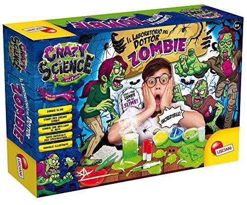Lisciani Giochi- Crazy Science Il Laboratorio del Dottor Zombie, Multicolore, 68678