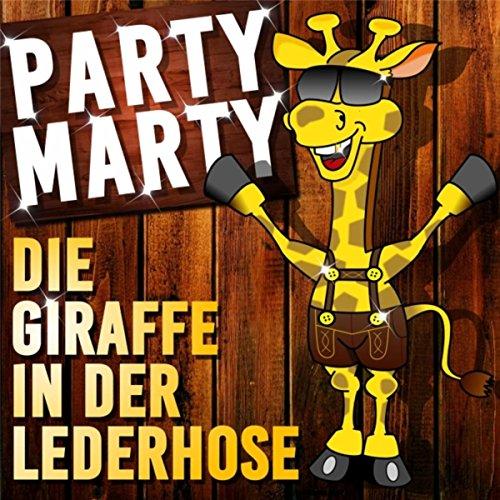 Die Giraffe in der Lederhose