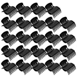 Bolonbi 24 Pack Hot Roller Clips, Hair Curler Claw Clips Replacement Roller Clips