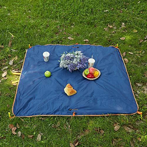 naturfaser IKEA Teppich Anti rutsch unterlage Pastellfarben pflegeleichtWJNSTNBL Doppelschicht tragbare Outdoor Camping wasserdichte Teppichmatte