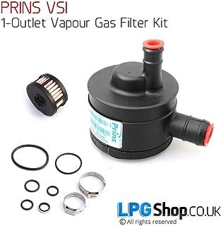 Prins VSI/ GPL /Set filtro 2/uscite auto Gas GPL