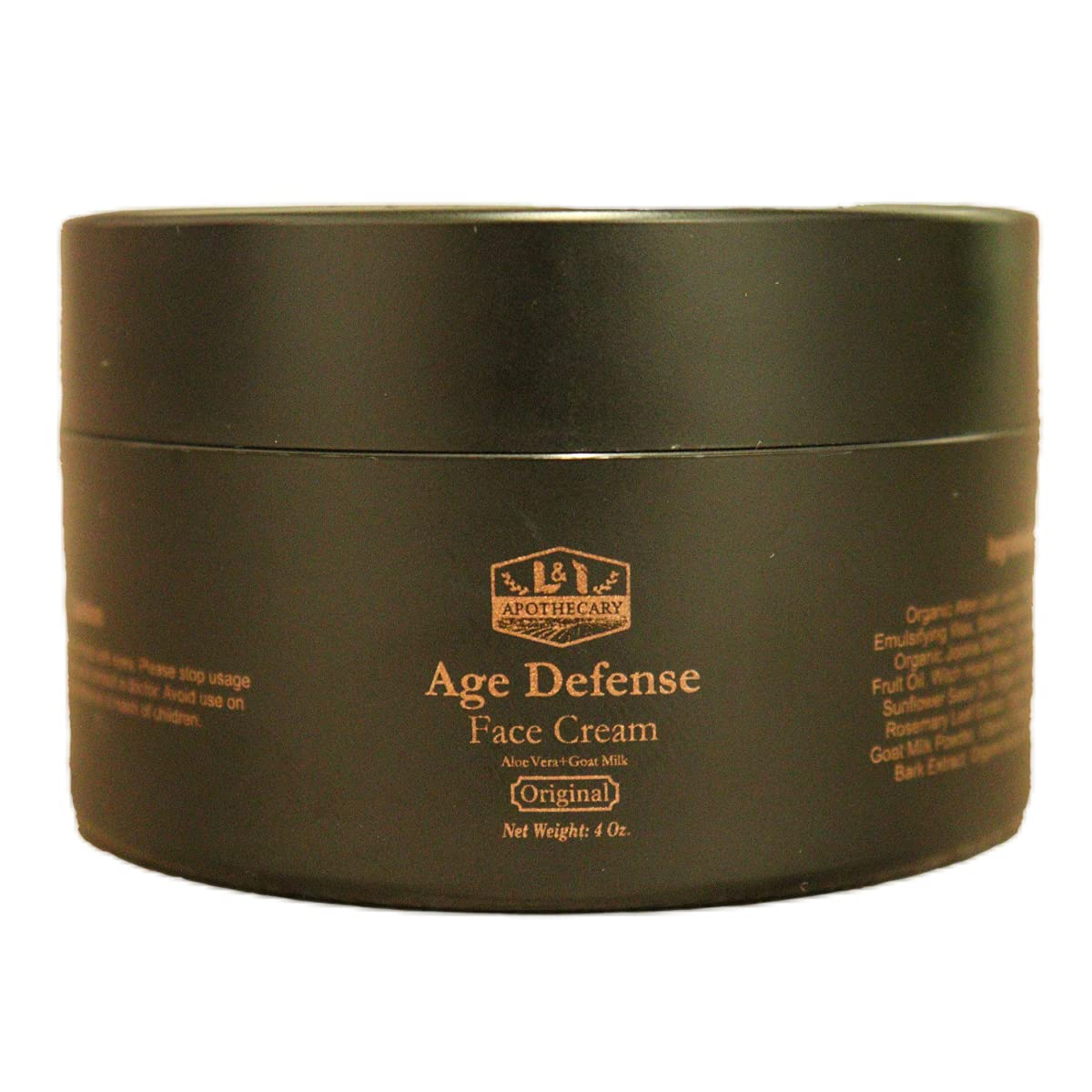 4 Ranking integrated 1st place Oz. Age Defense Face Cream With + Ester New product type Aloe C Vera Vitamin