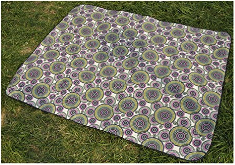 Outdoor Large Size Foldable Camping Mat Picnic Blanket Waterproof Beach Rug Mat Lightweight,300 x 300CM