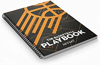 Basketball Coaching Playbook by MVMT sports. | Capture Plays, Drills and Opponent Scouting | Advanced Notebook for Basketb...