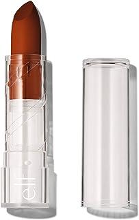 e.l.f. Srsly Satin Lipstick, Intense color Payoff & Silky Smooth Formula, Cider, 0.16 Oz (4.5g)