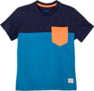 OFFCORSS Toddler Boys Pocket Tee Shirt Clothing | Camisetas Bebe Ropa de Niño