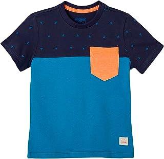 OFFCORSS Toddler Boys Pocket Tee Shirt Clothing | Camisetas Bebe Ropa de Niño