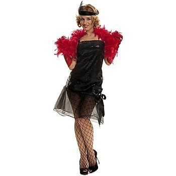 DreamGirl - Disfraz de cabaret para mujer, talla L (5112L): Amazon ...