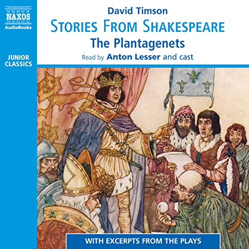 Stories from Shakespeare - The Plantagenets audiobook cover art