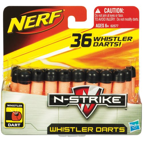 Nerf 62577 - N-Strike Whistler Darts 36er Nachfüllpack