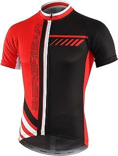 BERGRISAR Men's Cycling Jerseys Short Sleeves Bike Shirt
