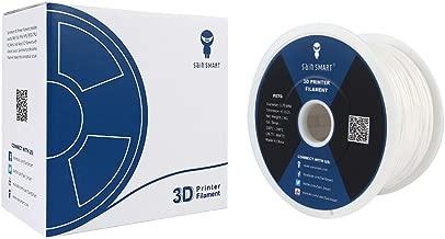SainSmart 3D PLA 1KG 1.75mm WHT PLA 3D Printer Filament, Dimensional Accuracy +/- 0.05 mm, 1 kg Spool, 1.75 mm, (White)