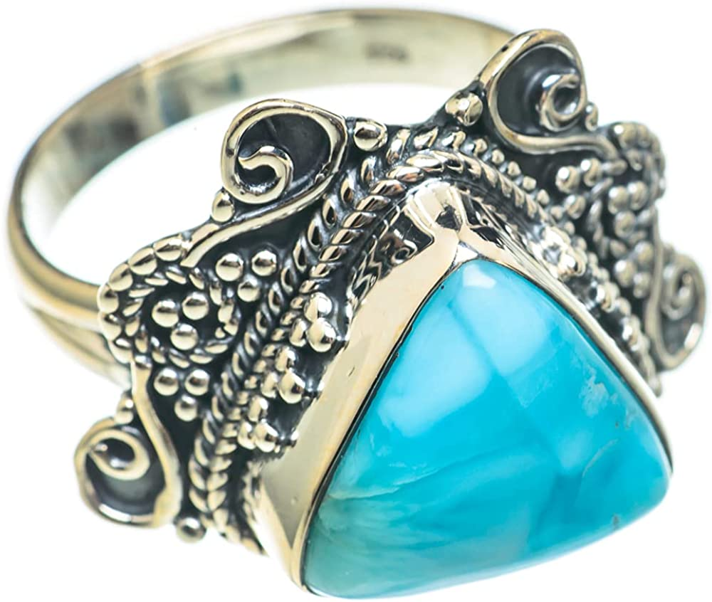 Ana Silver Co Larimar Ring Size - Handma 925 Challenge the lowest price of Japan Sterling 9 Low price