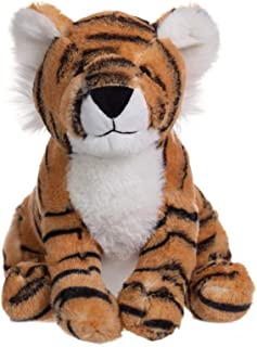 Apricot Lamb Toys Plush Tiger Stuffed Animal Soft Cuddly Perfect for Girls Boys (Yellow Tiger, 10 Inches)