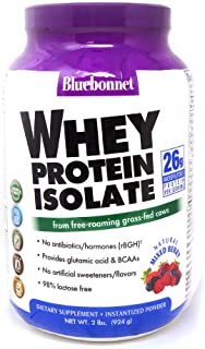 bluebonnet whey protein isolate mixed berry