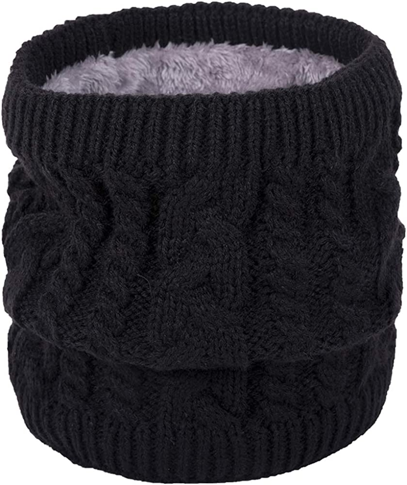 Women's Men Thick Winter It is very popular Knitted Max 51% OFF Warm Circle Scarf Infinity Loop