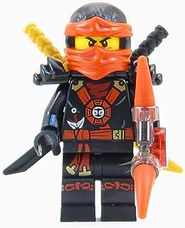 LEGO® Ninjago: Deepstone Kai Ninja Minifigure Red Aeroblade Swords