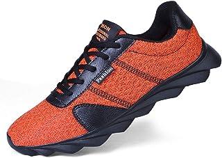 Jiyaru Mens Running Shoes Tennis Lightweight Walking Sneakers Breathable