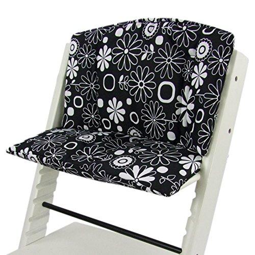 Babys-Dreams Lot de 2 coussins de rechange pour chaise haute Tripp Trapp - 10 couleurs vives - Forme ronde